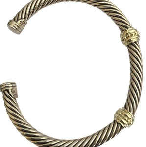 David Yurman David Yurman Two-Station Cable Cuff