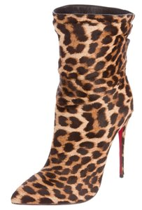 Christian Louboutin So Kate Pointed Toe Ankle Black, Brown Boots