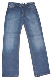 Moschino Relax Straight Leg Size 34 Relaxed Fit Jeans-Distressed