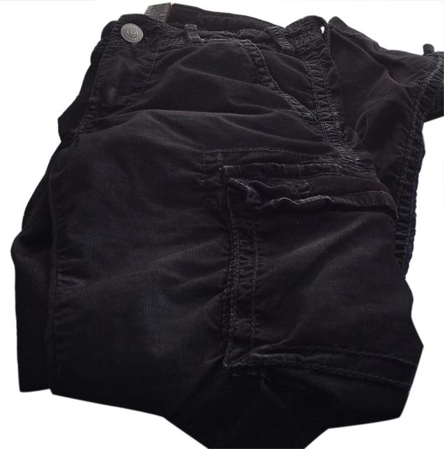 Item - Distressed Black Cargo Jeans Size 30 (6, M)