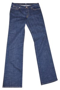 Versace Denim New Straight Leg Jeans-Dark Rinse