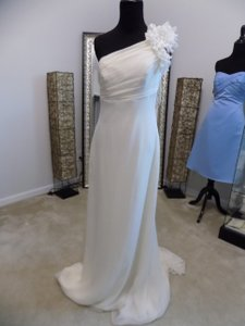Jim Hjelm Georgette Wedding Dress