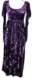 Betsey Johnson Crushed Velvet Vintage Dress