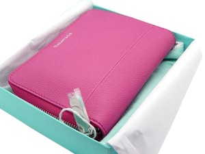 Tiffany & Co. Brand new Tiffany Pink 100% Leather Wallet