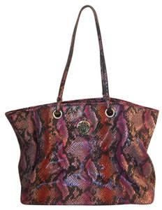 Kate Landry Tote in pink, purple, red
