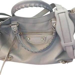 Balenciaga Satchel in Light Gray