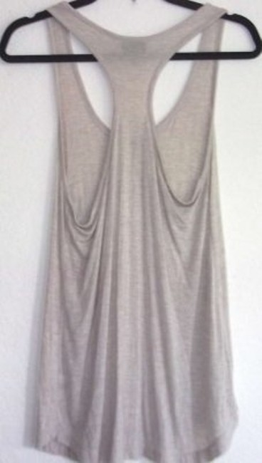 Mossimo Supply Co. Racer-back Loose Fit Casual Basic Small Top Tan