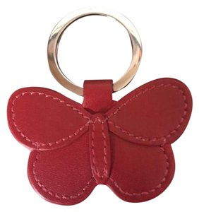 Coach Coach Red Butterfly bag charm
