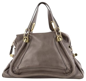 Chlo Chloe Paraty Leather Satchel
