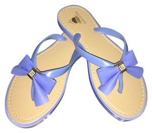 Other Blue, or baby blue Sandals