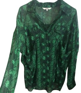 BB Dakota Button Down Shirt Emerald