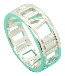 Tiffany & Co. Tiffany & Co. 925 Sterling Silver Atlas 6.7mm Band Ring