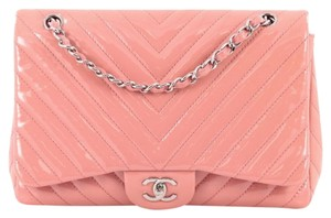 Chanel Flap Patent Shoulder Bag