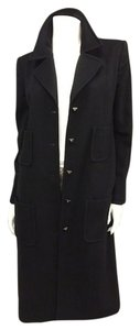 Chanel Cashmere Luxury Runway Trench Coat