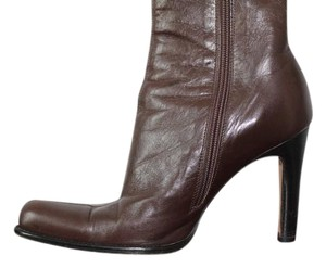 BCBGMAXAZRIA Bcbg Max Azria Leather Brown Boots