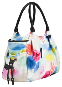 Kate Spade Oversized Leather Trim Multi Diaper Bag