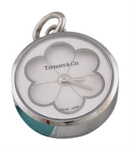 Tiffany & Co. Tiffany Stainless Steel White Blossom Watch Charm 4 Necklace Bracelet