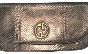 Gucci Bronze Clutch