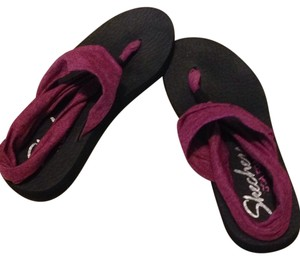 Skechers Marbled purple Sandals