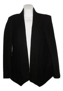 Rebecca Minkoff Wool Structured Nylon black Blazer