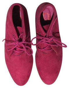 Red Circle Jervis Magenta Boots