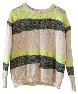 Mango Relaxed Fit Bold Stripe Sweater
