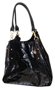 Big Buddha Quilted Tote in black