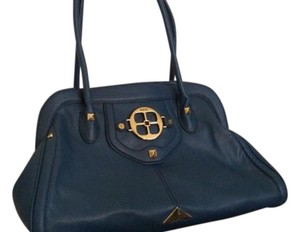Joy & IMAN Satchel in Teal