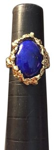 Other 14kt yg and lapis custom made ring