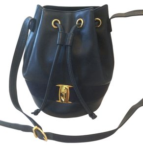 Salvatore Ferragamo Vintage Leather Shoulder Bag