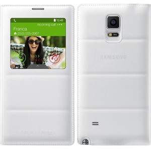 Samsung SAMSUNG Flip Cover for Galaxy Note 4 White
