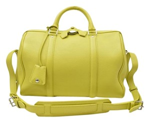 Louis Vuitton Sc Bb Sofia Coppola Speedy Satchel in Yellow Green