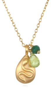 Other Satya Jewelry Peridot Serpent Necklace