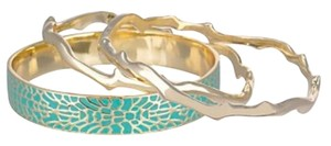 Kendra Scott KENDRA SCOTT SET OF THREE BANGLE BRACELETS