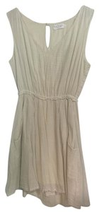 Velvet by Graham & Spencer short dress Cream Pockets on Tradesy