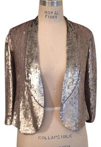 Sachin + Babi Top Pewter sequins
