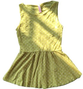 Sweet Pea by Stacy Frati Top Charteuse