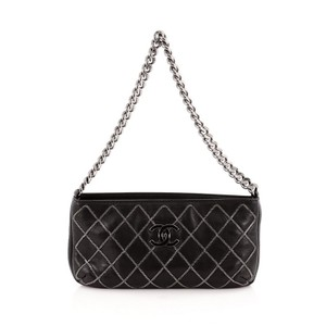 Chanel Chain Stitch Pochette Shoulder Bag