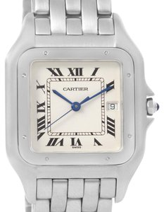Cartier Cartier Panthere Jumbo Stainless Stainless Steel Date Watch W25032P5