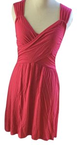 Pins and Needles short dress Pink on Tradesy
