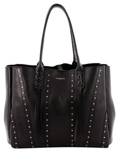 Lanvin Shopper Leather Tote