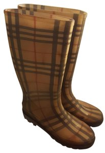 Burberry Rainboot Novacheck Boots