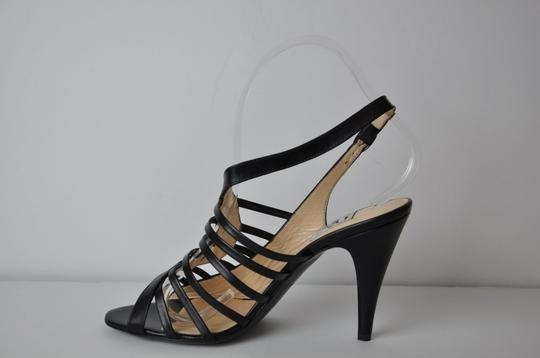 Barneys New York Co Op Leather Floor Sample Heel 3.5