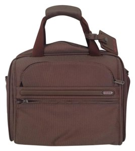 Tumi Travel Travel Carry On Carry On Brown Travel Bag