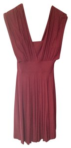 White House | Black Market short dress Burgandy on Tradesy