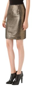 Tory Burch Skirt Gold