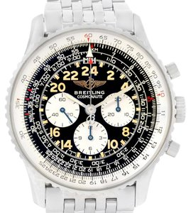 Breitling Breitling Navitimer Cosmonaute Black Dial Chronograph Watch A12022