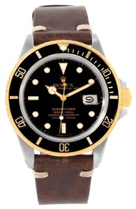 Rolex Rolex Submariner Steel 18K Yellow Gold Black Dial Watch