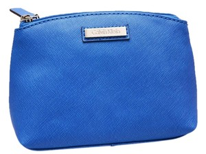 Calvin Klein Brand New Calvin Klein, Cobalt Blue, Genuine Saffiano Leather