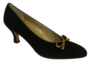 Salvatore Ferragamo Bow Pump Black Pumps